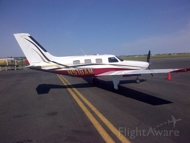 Piper Malibu Mirage (N518AM) - Air Ramba