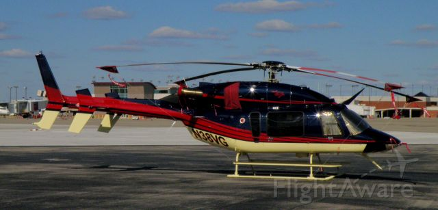 Bell 427 (N38VG) - A colorful Bell 427 parked at TAC Air (FBO) at Blue Grass Airport (KLEX)....
