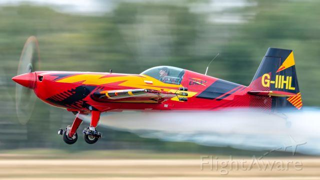 EXTRA EA-300 (G-IIHL) - Marek Choim and his Extra 330SC. 29.08.2020 , Leszno - Poland.