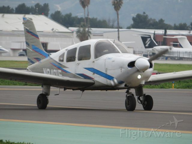 Piper Cherokee (N84015) - This nice Piper PA-28 was on its way to a practice area north of Malibu, California.