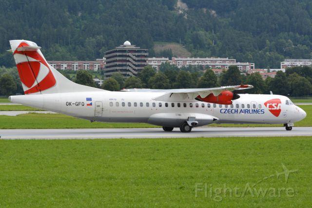 Aerospatiale ATR-72-500 (OK-GFQ)