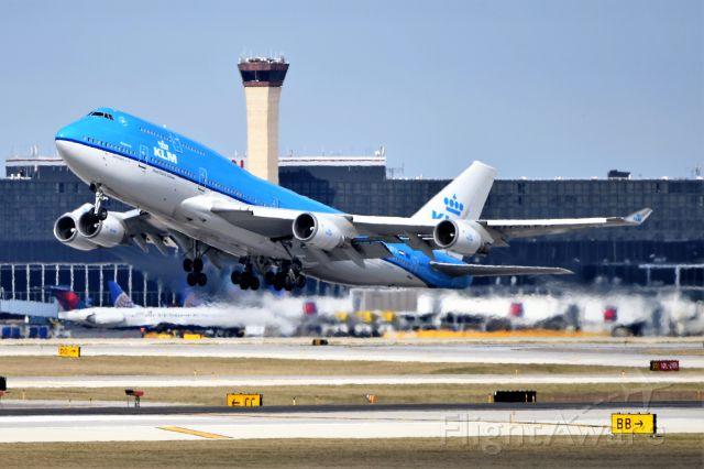 Boeing 747-400 (PH-BFH) - 28-C 04-17-18