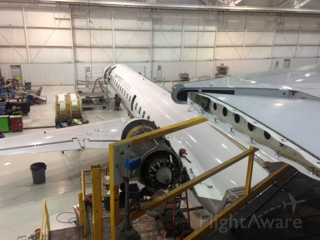 Embraer ERJ-135 — - KTYS United Airlines maintenance facility 2.