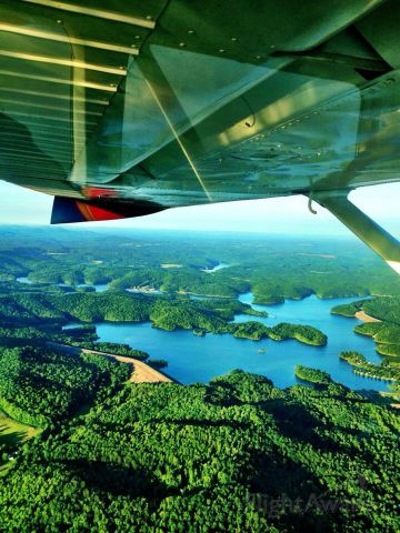 Cessna Skylane (N79180) - Summersville Lake, West Virginia.