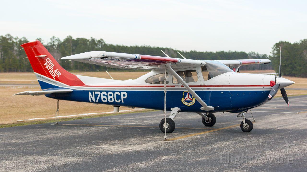 CESSNA T182 Turbo Skylane (N768CP) - Tied down at KOCH, the Texas Wing HQ of the Civil Air Patrol.