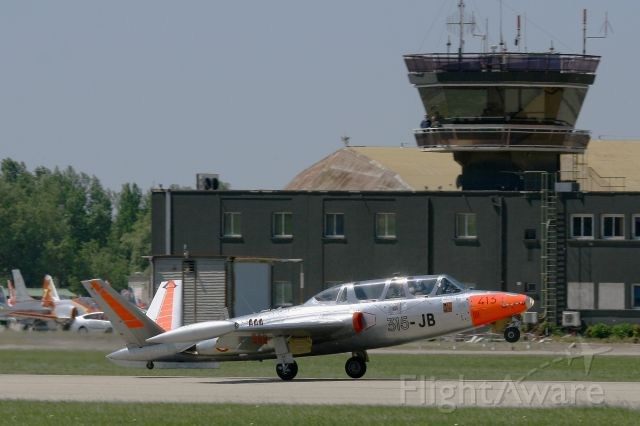F-AZPZ — - Fouga CM-170 Magister, Take off Rwy 34, Salon De Provence Air Base 701 (LFMY)