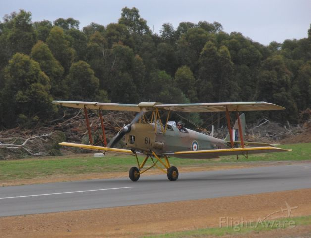 OGMA Tiger Moth (VH-CXV) - de Havilland DH-82A Tiger Moth.br /Serial: T5531br /Manufactured in 1938br /Photo: 08.11.2009