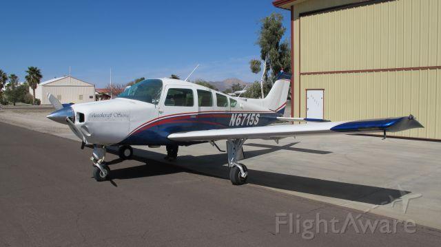 N6715S — - N6715S at its old home in Arizona (2AZ1).  It now lives in Washington, DC (KVKX).
