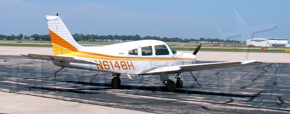 Piper Cherokee (N6148H) - Outside the old Wings USA hangar