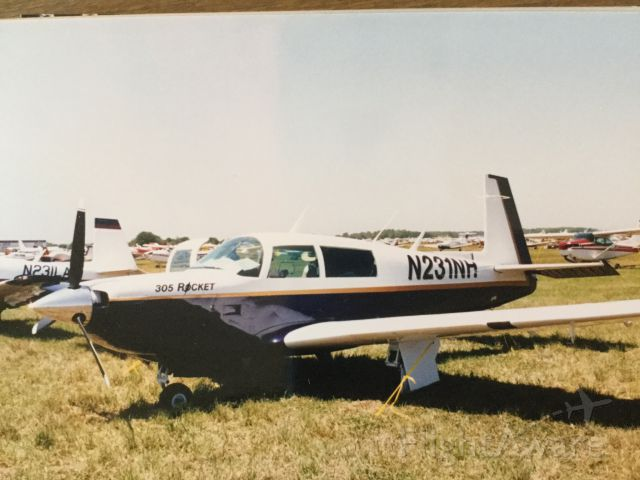 Mooney M-20 Turbo (N231NH) - Parked at Fun and Sun