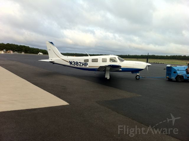 Piper Saratoga (N382HP) - Going to bed,KMJX