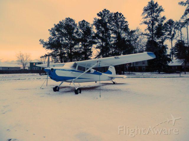 Cessna 170 (N2966D) - JAN.2014 WARNER ROBINS GA