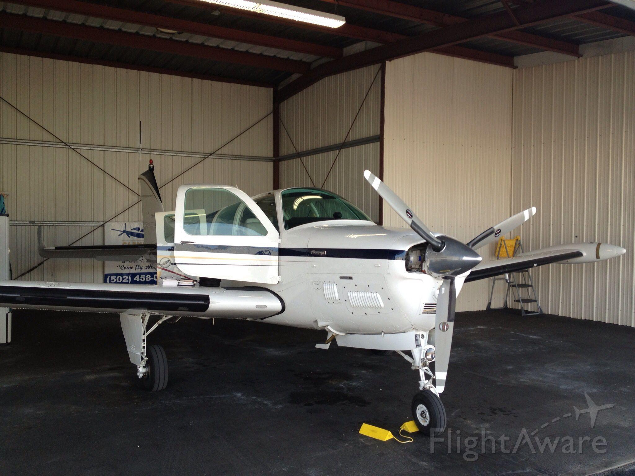 N6672X — - At the hangar