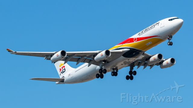 Airbus A340-300 (OO-ABA) - OO-ABA Air Belgium Airbus A340-313