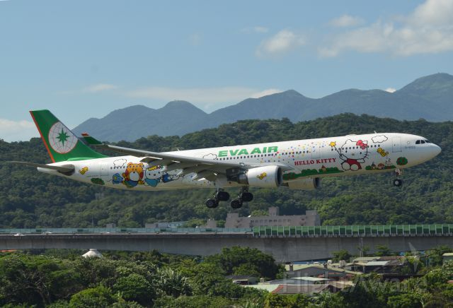 Airbus A330-300 (B-16331) - Hello Kitty Special Livery