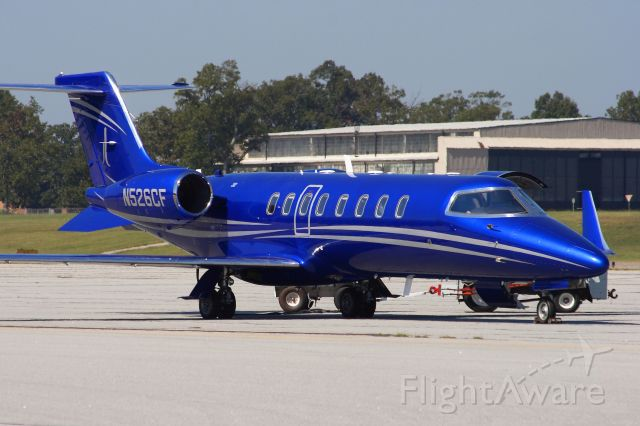 Learjet 45 (N526CF) - Gotta be the BLUE-EST Lear Ive ever seen.