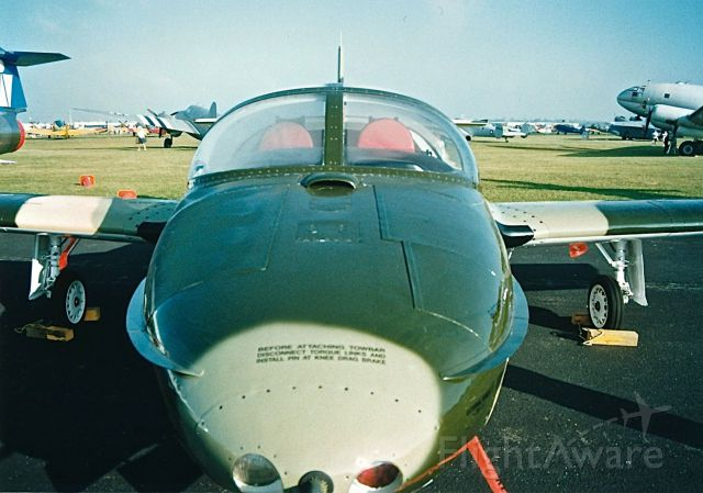 Cessna 318C (N370WB) - Nose on photo of a T-37 at the EAA Fly In and Air Show