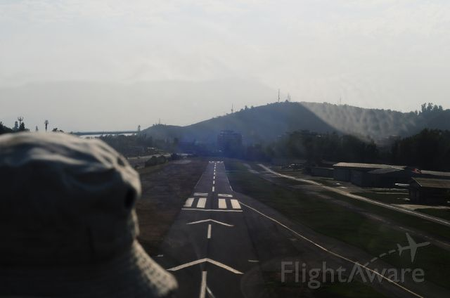 CCK19W — - LANDING RUNWAY 25 IN VITACURA AFTER A FLIGHT OVER THE ANDES