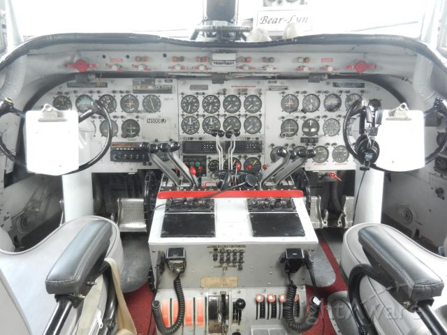 Douglas C-54 Skymaster (N500EJ) - This Is The Cockpit Of The Spirit Of Freedom