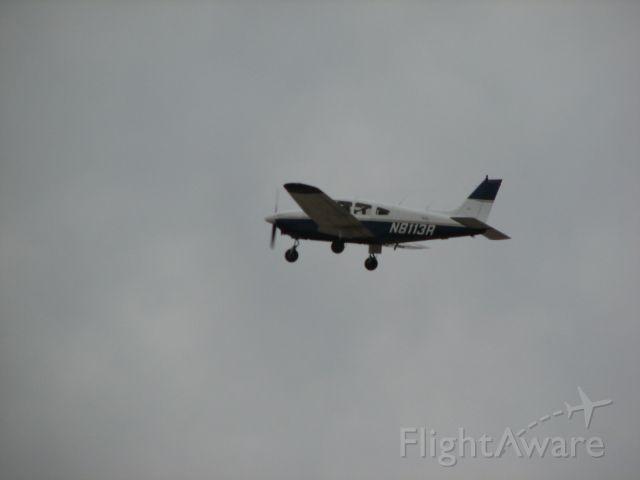Piper Cherokee (N8113R) - at Lancaster