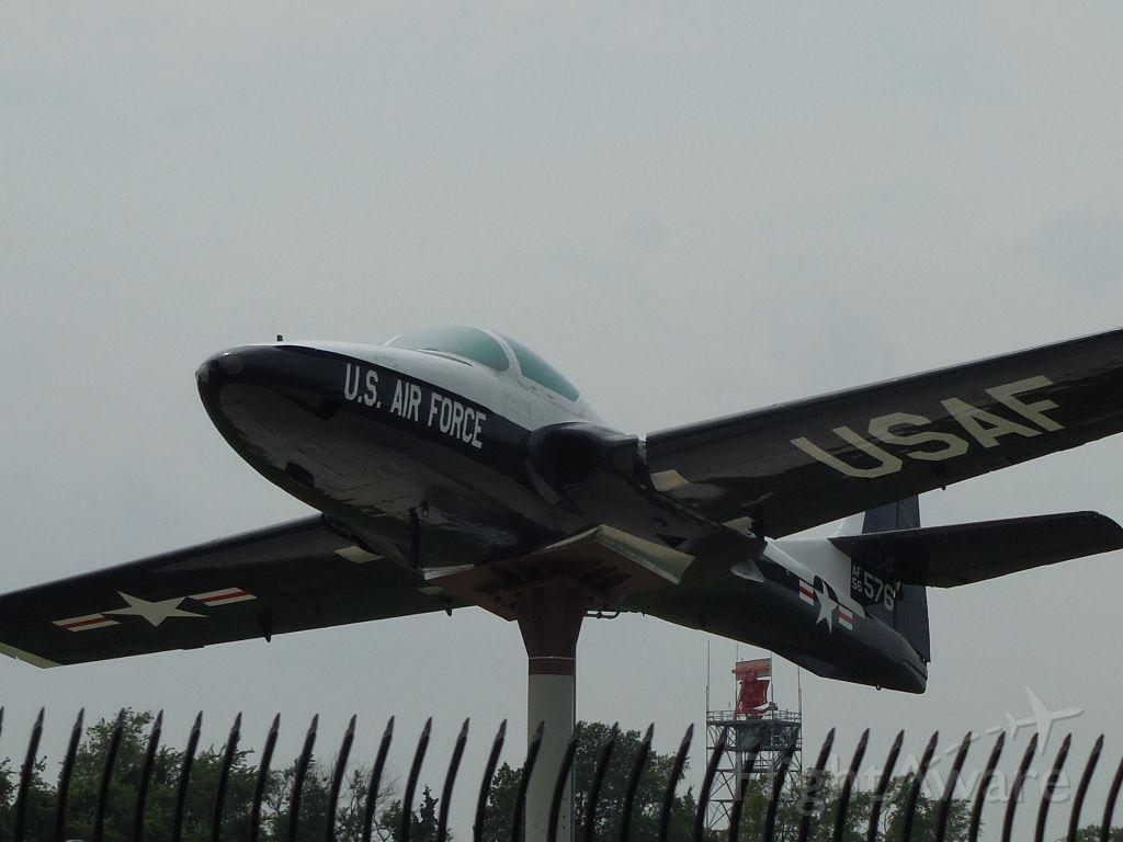 Cessna 318C (56-3576) - 78th Air Base Wing