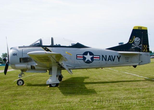 North American Trojan (N228JK) -  At AirVenture 2016.