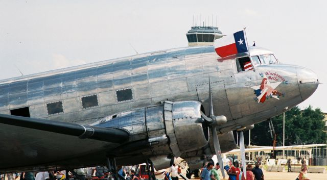 """N47HL — - Commemorative Air Forces C-47B """"Bluebonnet Belle"""" at Barksdale AFB Airshow in 2005."""