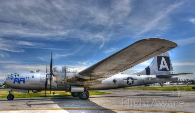 Boeing B-29 Superfortress (N529B) - FIFI arrival at Van Nuys