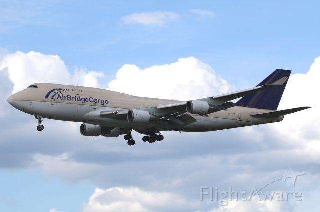 Boeing 747-400 (TF-AMP) - hybrid