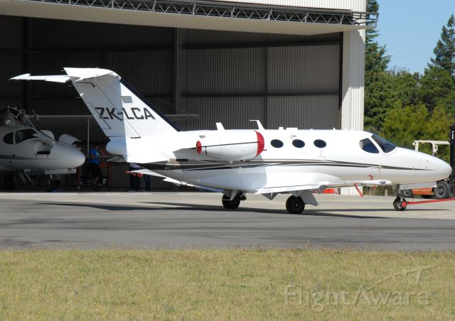 Cessna Citation Mustang (ZK-LCA) - At the Bridge Pa Airfield Hastings
