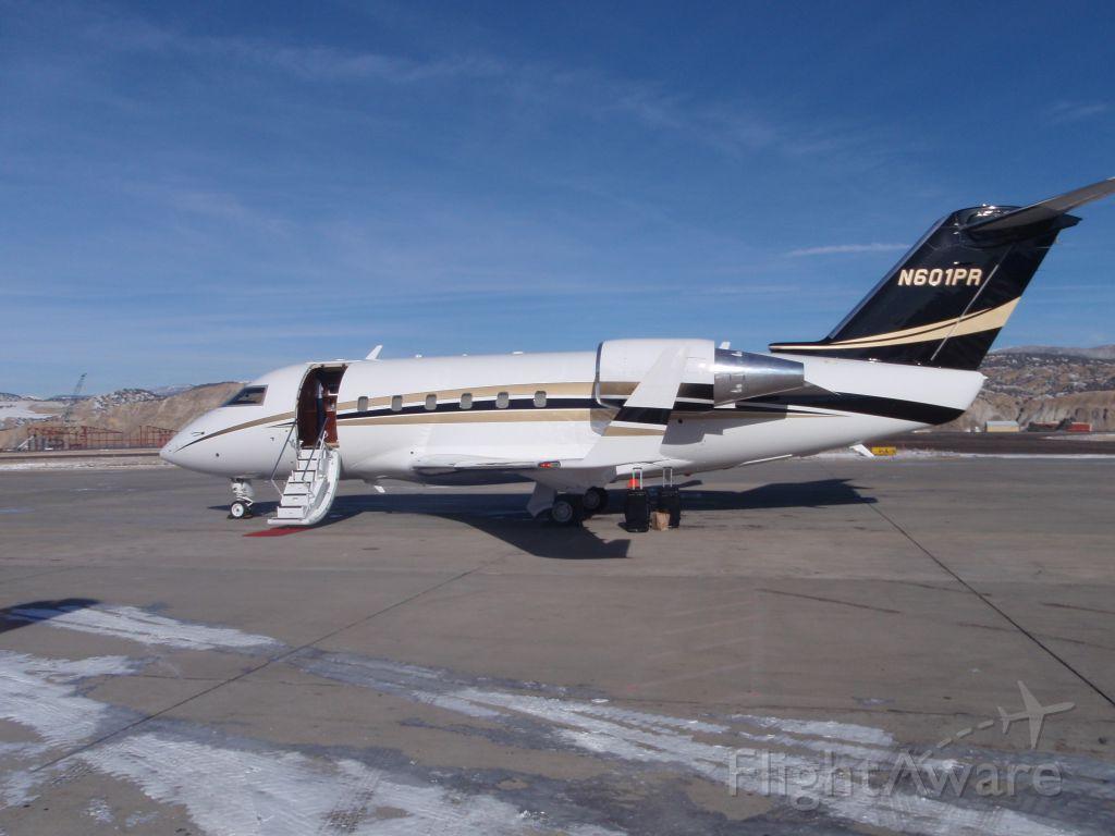 Canadair Challenger (N601PR)