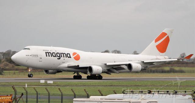Boeing 747-400 (TF-AMP) - magma b747-481f tf-amp dep shannon for doha 11/3/20.