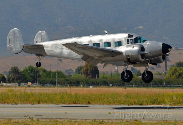 N118AS — - Photographed landing at Hollister Municipal Airport where it was on static display during the Father