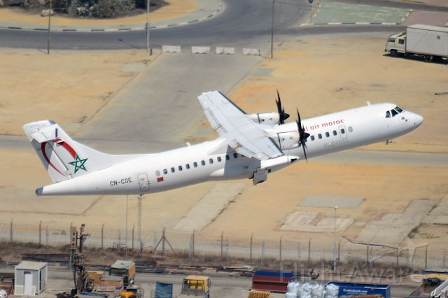 ATR ATR-72 (CN-COE) - Picture taken from 'The Rock'