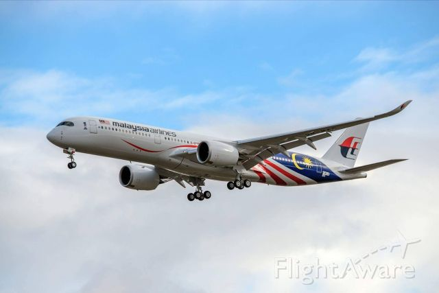 Airbus A350-900 (9M-MAF)