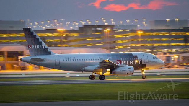 Airbus A319 (N512NK)