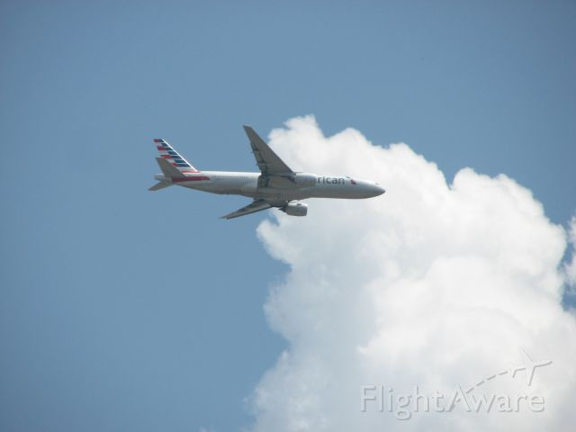 Boeing 777-200 (N794AN) - American flight 969 arriving from Miami, FL