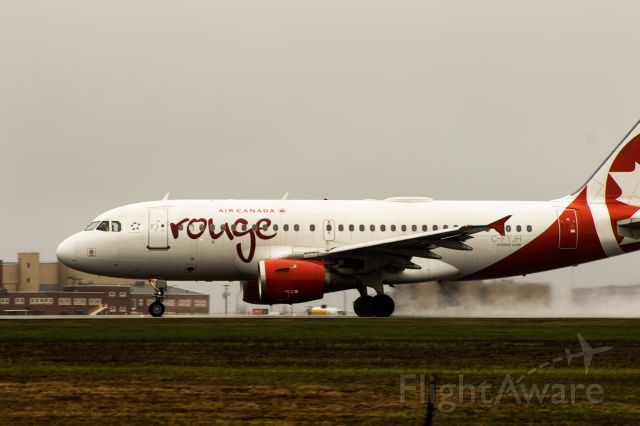 Airbus A319 (C-FYJH) - ROU 1505 Departing RWY 06 To YYZ