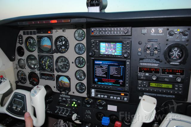 Beechcraft Bonanza (36) (N1116A) - N1116a cockpit being prepped for flight