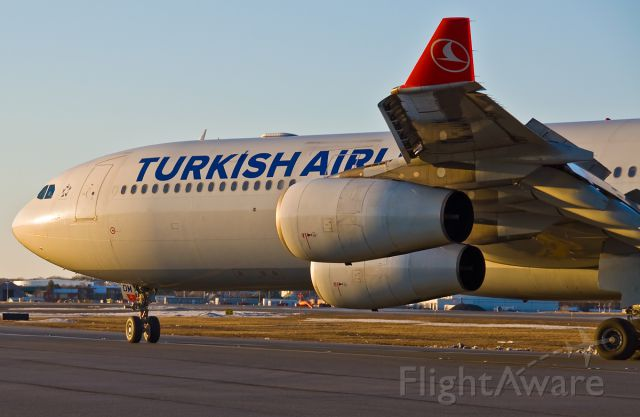 Airbus A340-300 (TC-JDM) - Delta Mike - Turkish Airlines  A340-300