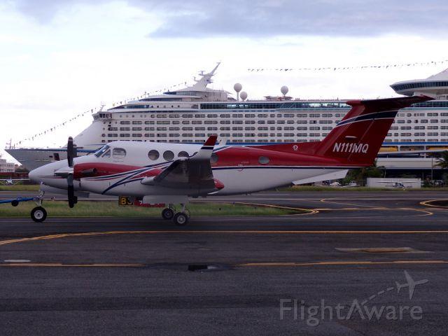 Beechcraft Super King Air 200 (N111MQ) - New Colors!