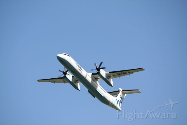 G-JECE — - G-JECE departs Inverness Airport