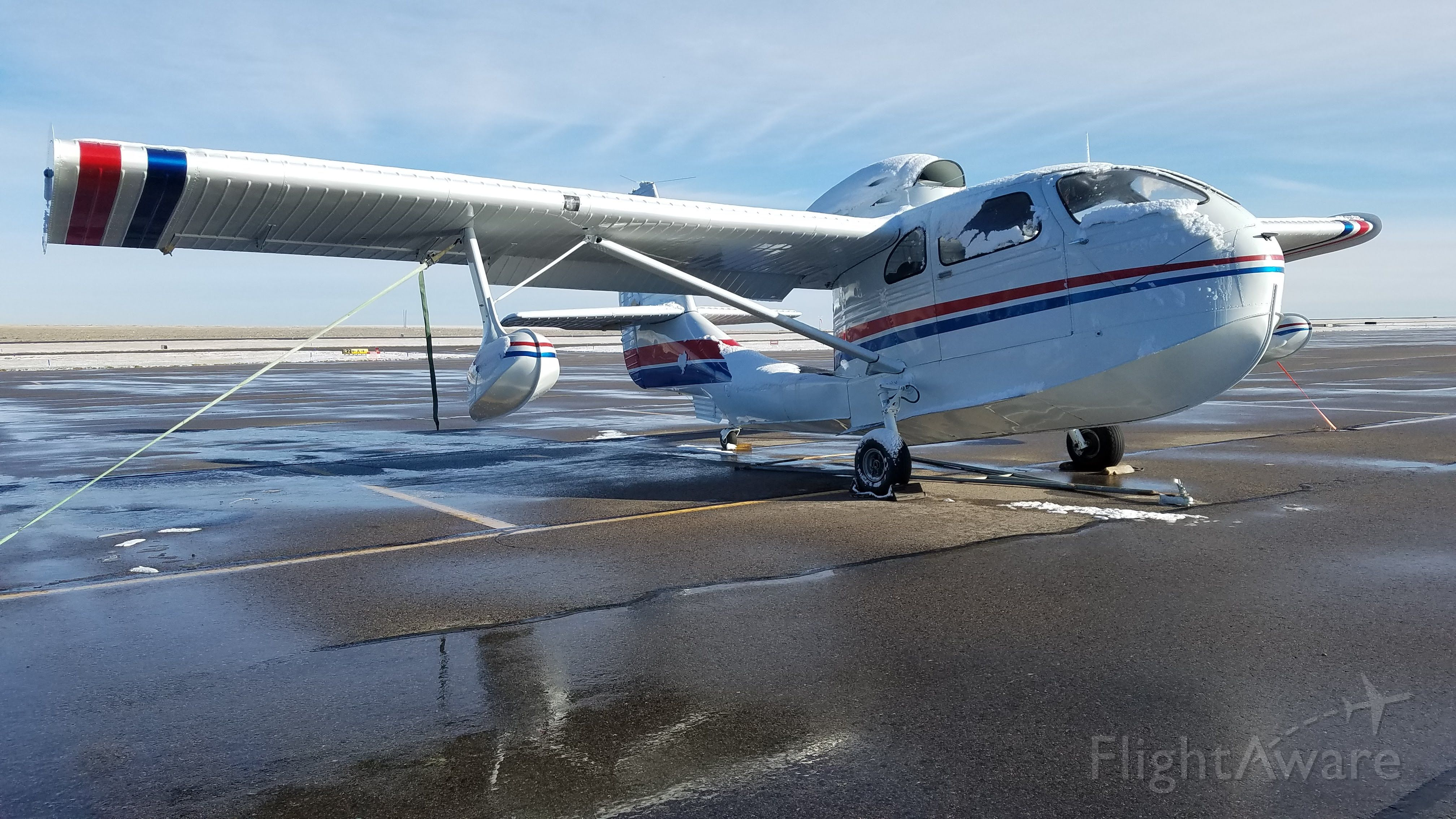 REPUBLIC Seabee (N6234K) - Seabee dreaming of warmer weather at Front Range Airport