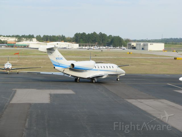Cessna Citation X (N353WC) - CESSNA 750