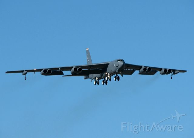 60-0049 — - Doing touch and goes at Barksdale Air Force Base, Louisiana.