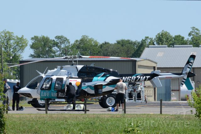 N687MT — - N687MT at KIER upon arrival from Bell