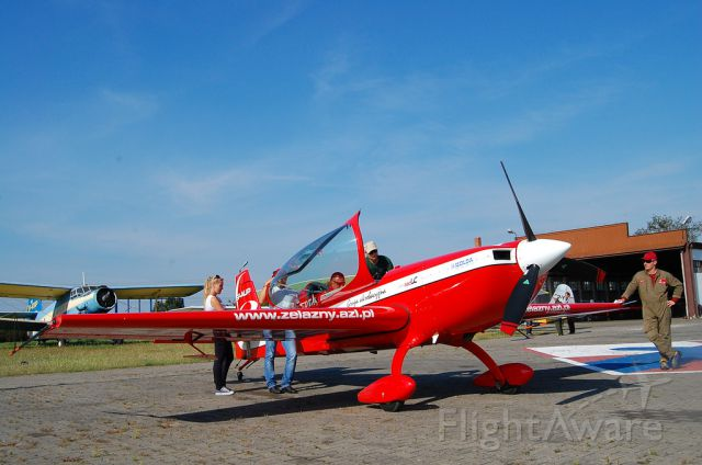 EXTRA EA-300 (SP-AUP) - An Extra XS-300 from the Zelazny Aerobatics Group at Kobylnica airfield (Poland)