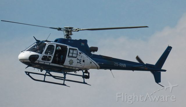 ZS-RNR — - A SAPS Helicoper tracking hijackers circles low over Johannesburg Suburbs.