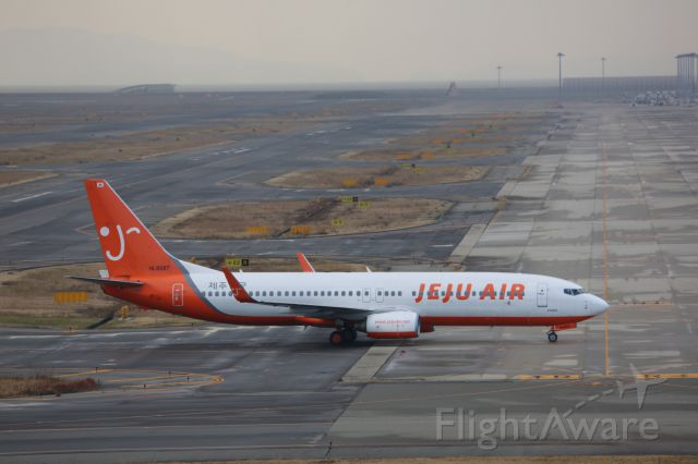 Boeing 737-800 (HL8287)