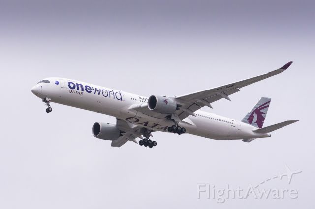 Airbus A350-1000 (A7-ANE) - Qatar Airways A350-1041 Landing at Chicago O'Hare